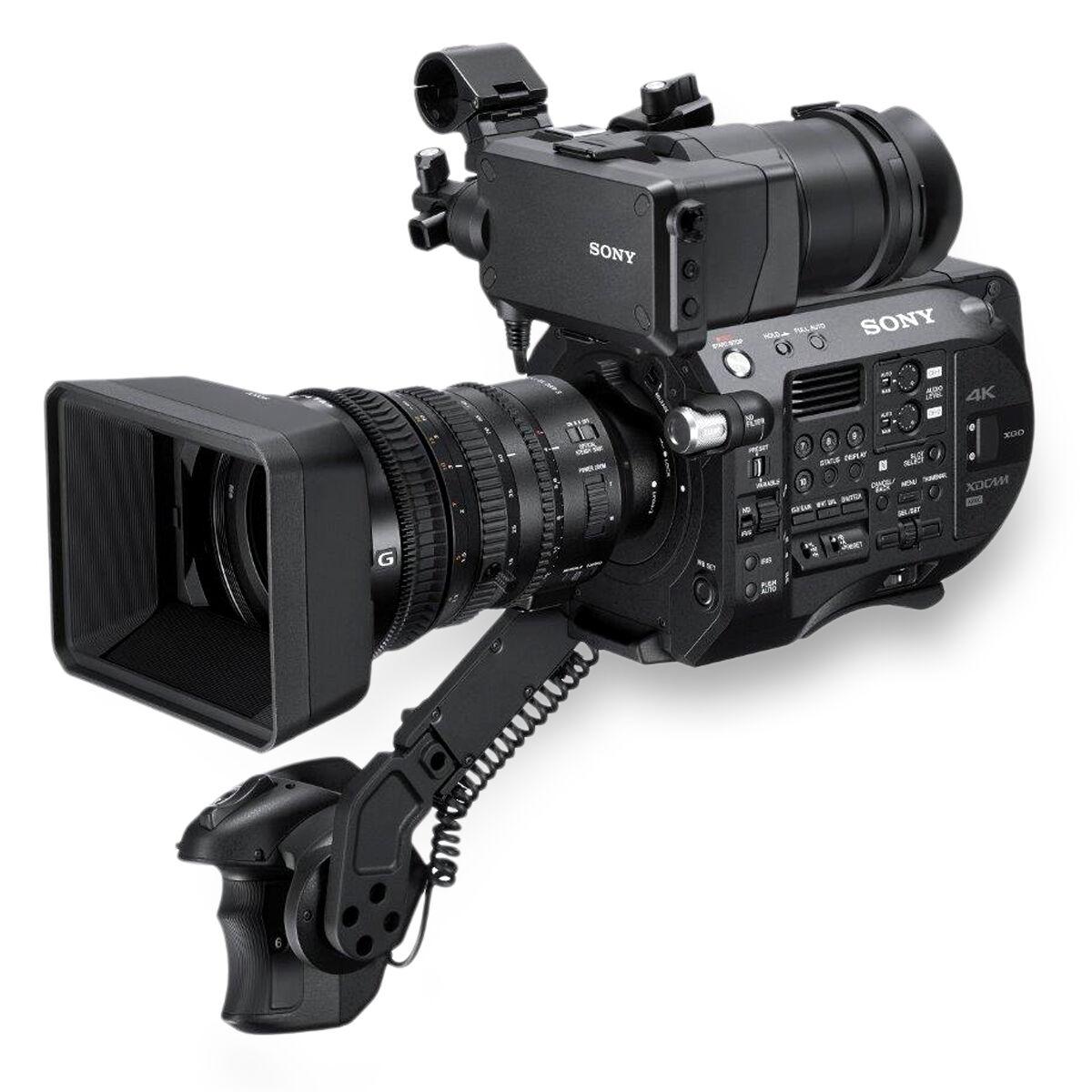 camara de vídeo profissional